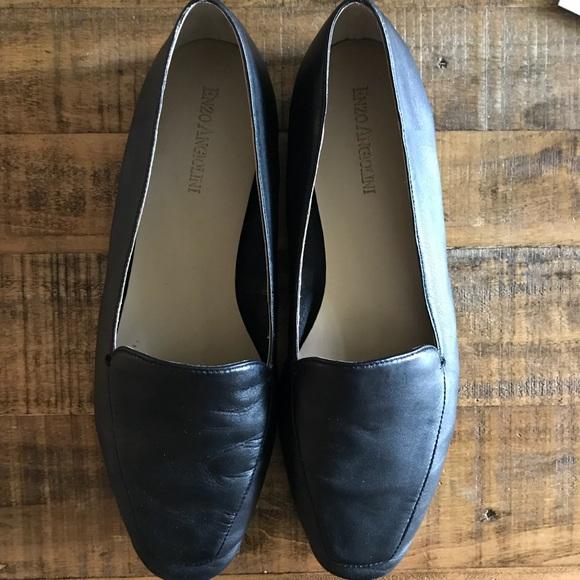 aafb0e853b8 Enzo Angiolini Shoes - ENZO ANGIOLINI LORELL LOAFER Black Leather Size 9